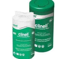 Clinell Universal Disinfection Wipes Tub  SKU : 4ZIC08