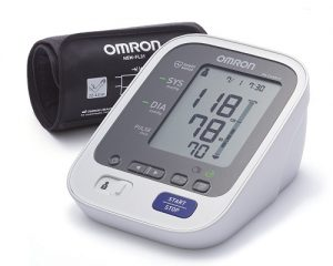 "Omron M6 Upper Arm Blood Pressure Machine <br/><span class=""skuid""> SKU : 1ZIN03 </span>"