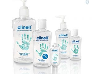 Clinell Alcohol Hand Gel 250ml  SKU : 4ZIC22