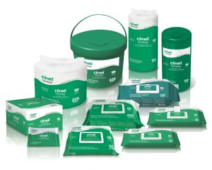 Clinell Multi Surface Disinfectant Free Wipe Bucket- 225 wipes  SKU : 4ZIC28