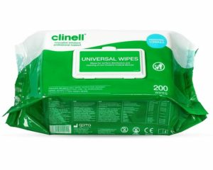 Clinell universal wipes 200  SKU : 4ZIC25