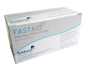Pre-injection Swab (Pack of 100)  SKU : 4ZIC06